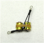 "Top-Hat 8 Wrap 1"" 5/16"" Core Coils PRE-SOLDERED"