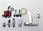 National Aluminum Precision Swing-Gate Tattoo Machine KIT - LEFT HAND