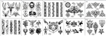 Surkov Tattoo Flash SET 4 (10 SHEETS)