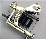 National Tattoo Supply Brass Mako Tattoo Machine Head - Quality Made in the USA