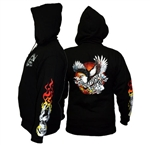 National Tattoo Association Hooded Sweatshirt LARGE