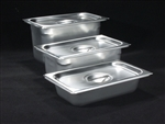 Stainless Steel Tray with Lid MEDIUM