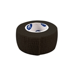 "Sensi-Wrap Self-Adherent Bandage - (30) 1"" x 5 yd Rolls, BLACK"