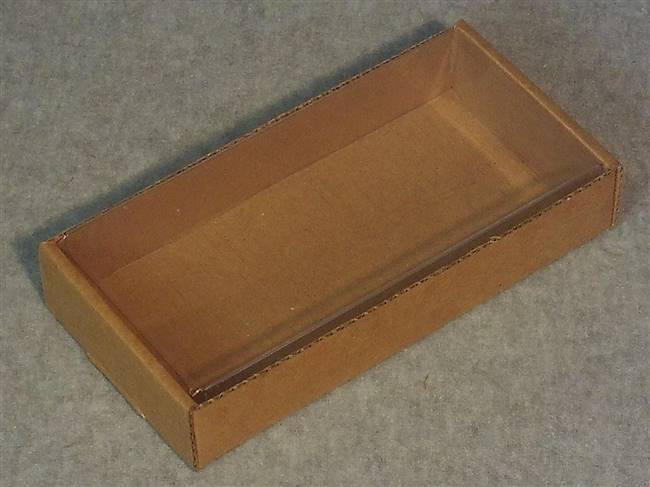 Kraft Soap Box with Clear Cover