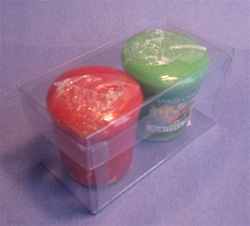 Clear Acetate Votive Box