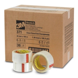 3M 371 Box Sealing Tape 48mm x 110yds