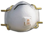 3M 8511 Dust Respirators with Valve