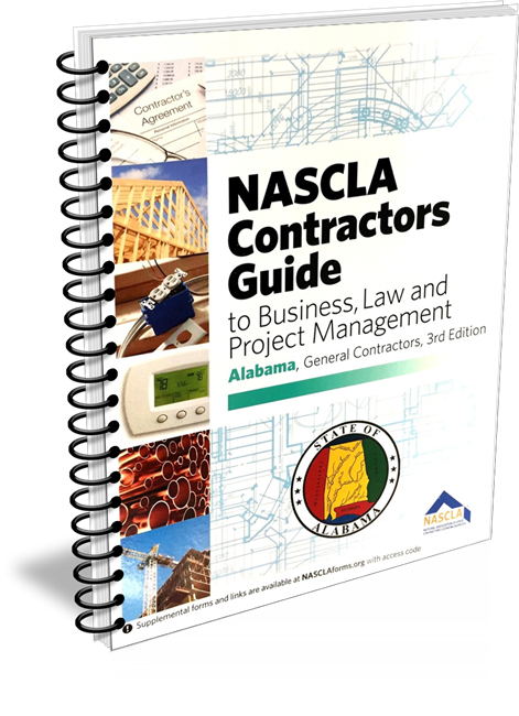 Alabama Nascla Business Law & Project Management for General Contractors 3rd Edition