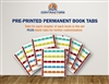Printed Book Tabs for Alabama Building Contractor Under Four Stories