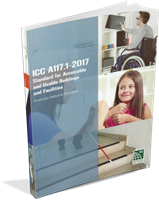 ICC/ANSI A117.1-2017 Standard on Accessible and Usable Buildings and Facilities