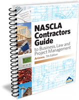 Arizona Nascla Business Law & Project Management for General Contractors