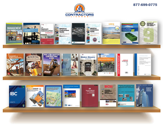 Arizona NASCLA General Contractor Book Set