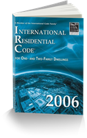 International Residential Code 2006