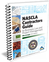Mississippi Nascla Business Law & Project Management for General Contractors