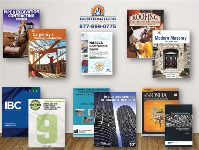 Mississippi Building Contractor Reference Book Set