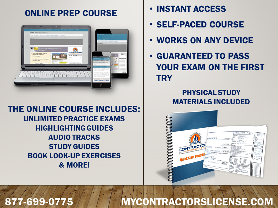 mississippi building contractor license exam prep course