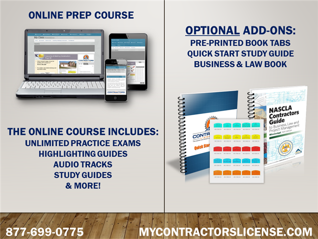 Mississippi Business/Law for General Contractors Prep Course