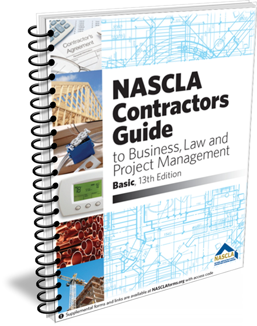 NASCLA Contractors Guide to Business, Law & Project Mgt, Basic 12th Edition