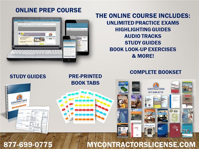 Arizona COMPLETE Prep Course Combo for the NASCLA exam