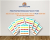 Pre-Printed Book Tabs for your NASCLA exam books