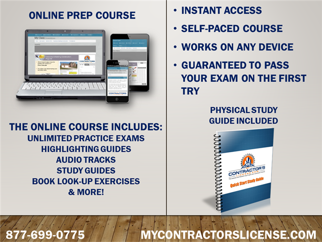 North Carolina Residential Contractor Exam Prep Course
