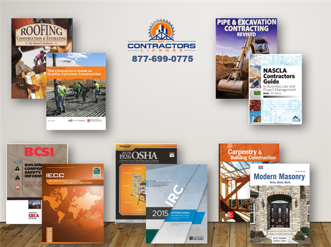 New Mexico GB-2 Residential Building Contractor Part 1 Bookset