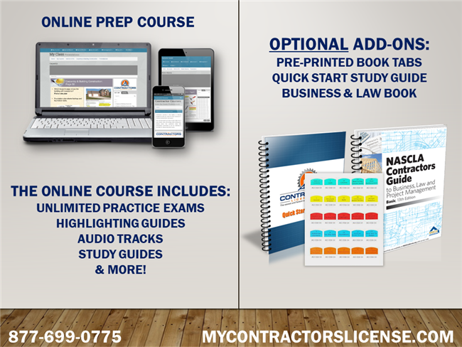 New Mexico Business/Law for General Contractors Prep Course