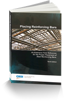 Placing Reinforcing Bars, 10th Edition