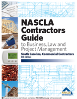 South Carolina Commercial Contractors Guide to Business, Law & Project Management