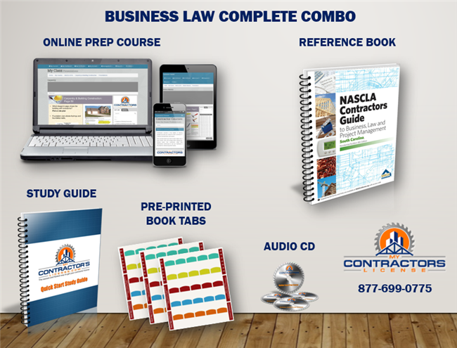South Carolina Residential Business Law Complete Study Pack