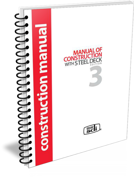 SDI Manual of Construction with Steel Deck 2006