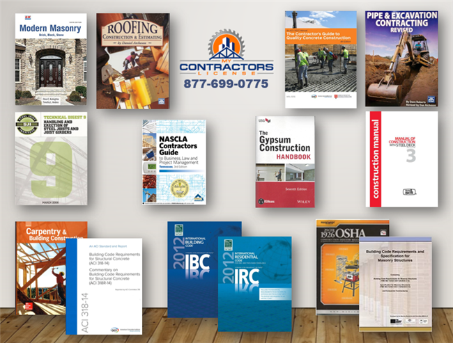 Tennessee BC-Ab (sm) Combined Residential / Small Commercial Contractor Book Set