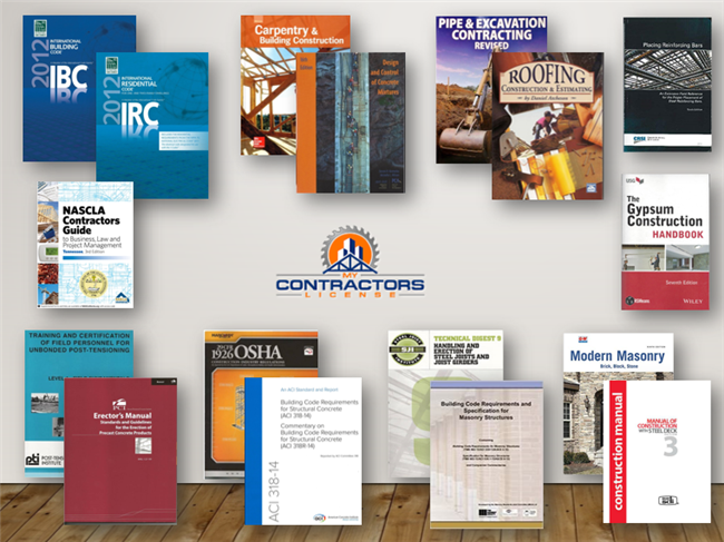 Tennessee BC-A,B - Combined Residential / Commercial Contractor Reference Book Set