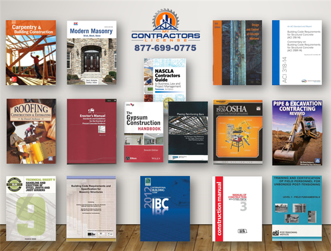 Tennessee BC-B Commercial Contractor Reference Book Set