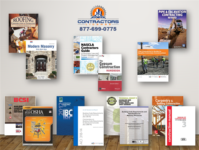 Tennessee - BC-b Small Commercial Contractor Exam Book Set
