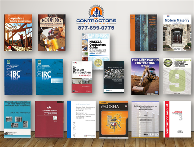 Tennessee BC - Combined - Residential / Commercial / Industrial Contractor Reference Book Set