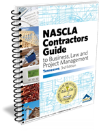 Tennessee Nascla Business Law & Project Management for General Contractors