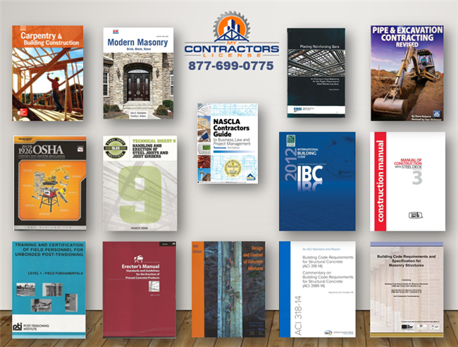 Tennessee BC-C Industrial Contractor Reference Book Set