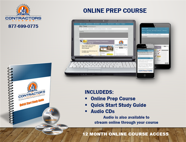 Tennessee BC Combined Residential / Commercial / Industrial Contractor Exam Prep Course