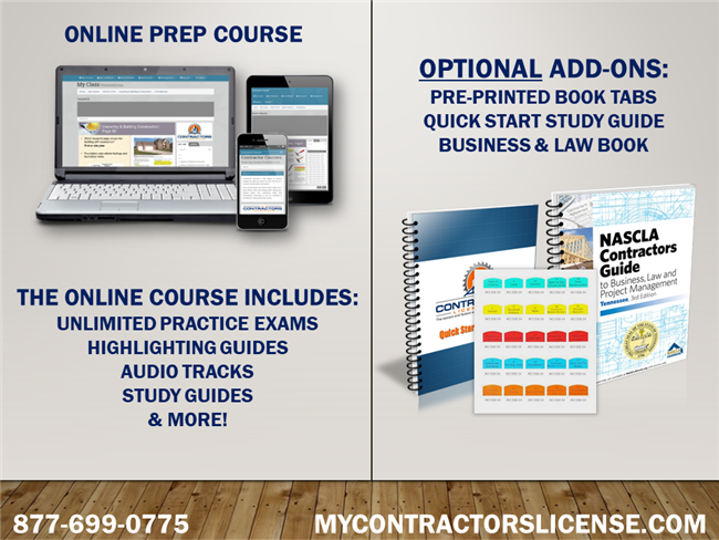 Tennessee Business/Law for General Contractors Prep Course