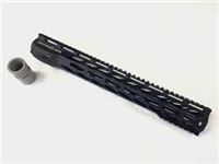 "Triton Mfg 15"" Ultra Light Free Float MLOK V3 Handguard"