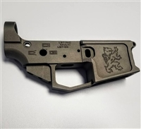 MAS GREY LBT INC 7075 T6 Billet Lower Receiver