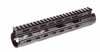 UTG PRO Model 4 Rifle Length Super Slim Free Float Handguard 13