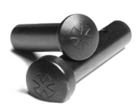 NOVESKE TAKE DOWN / PIVOT PIN SET WITH LOGO