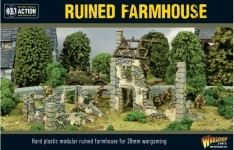 Ruined Farmhouse 28mm scale (1/56th)