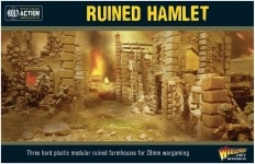 Ruined Hamlet 28mm scale (1/56th)