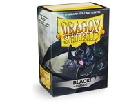 Dragon Shield Black 100 sleeves (63x88mm)