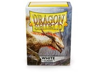 Dragon Shield White 100 sleeves (63x88mm)