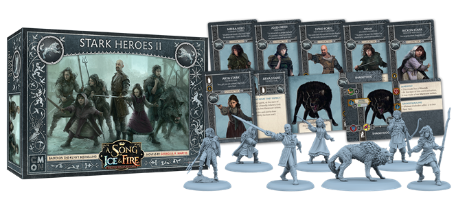 Stark HEROES 2 A Song of Ice and Fire Game of Thrones New