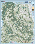 Ardennes 44 3rd printing mounted map